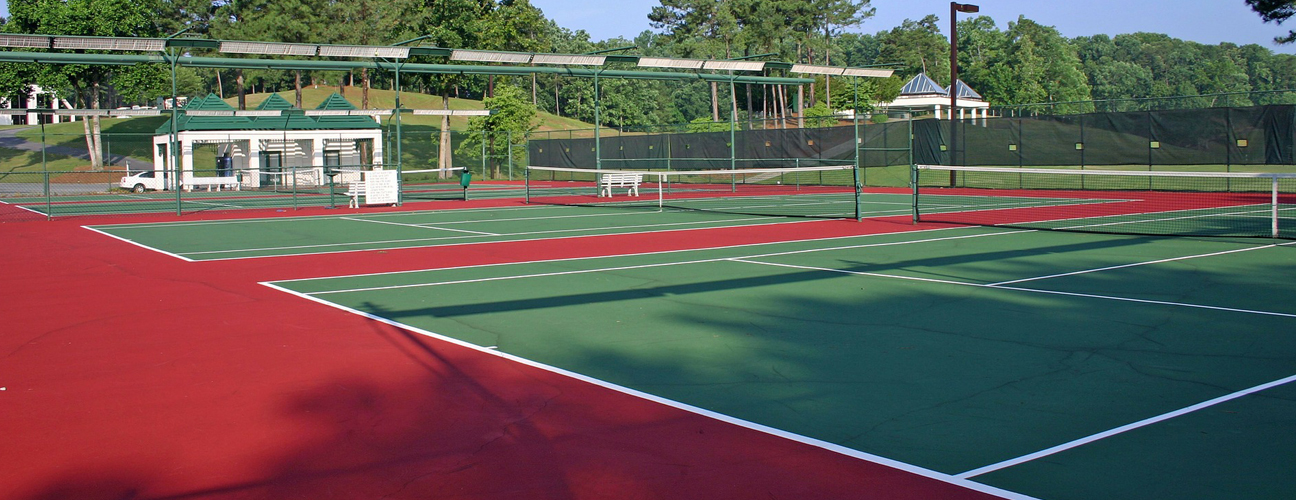 sports facilities construction and maintenance