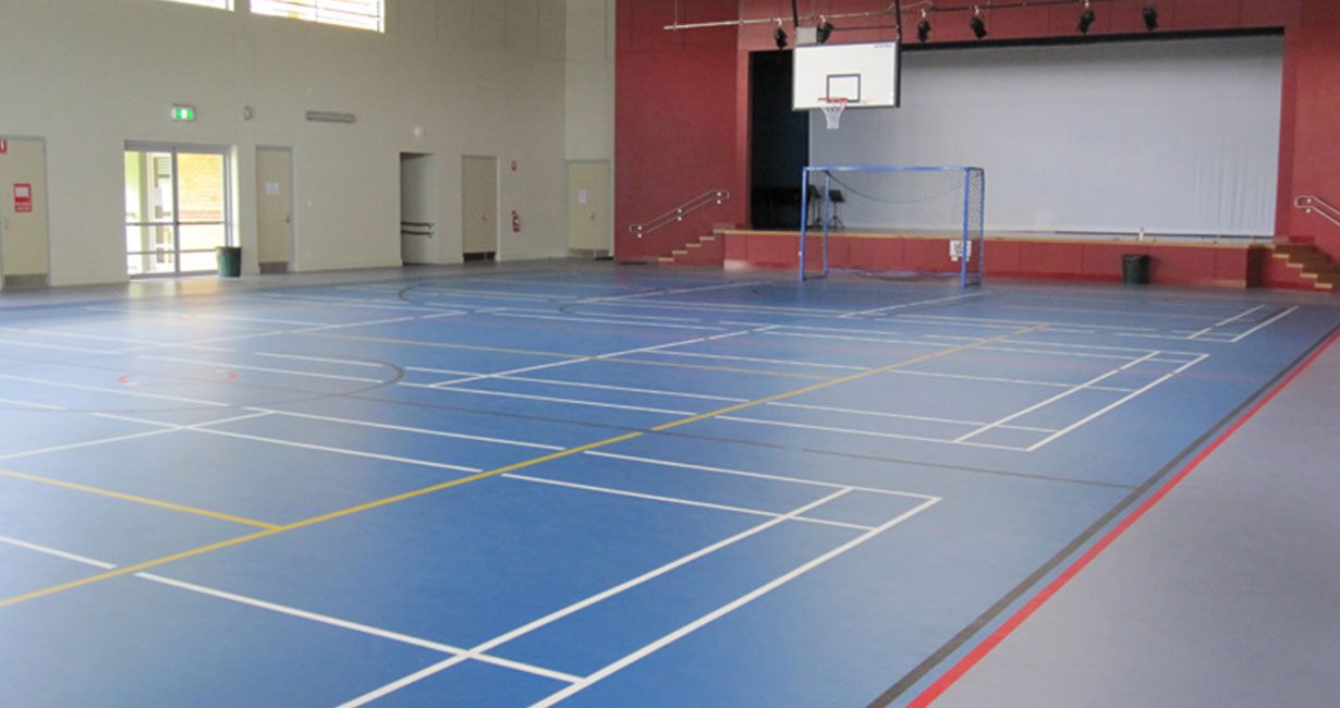 Multiuse Indoor Courts
