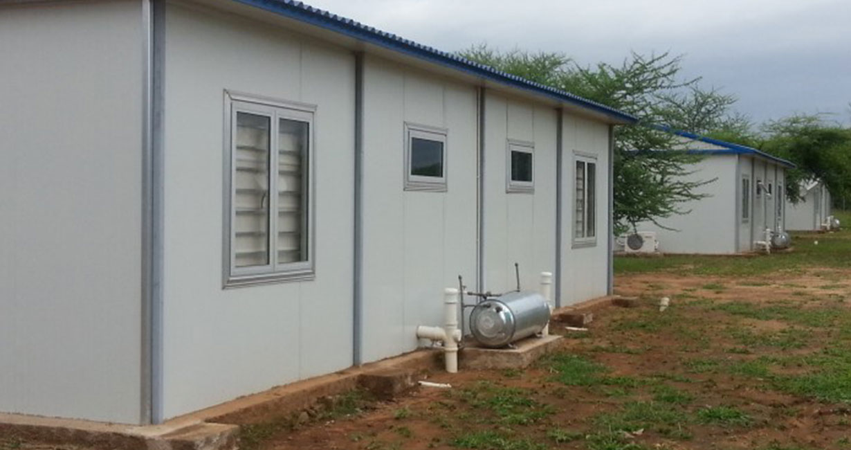 Prefabricated outdoor facilities
